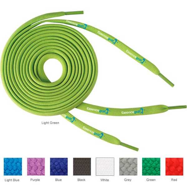 Polyester shoe laces -