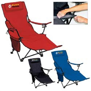 Folding two-position recliner and