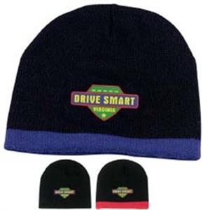 Acrylic knit cap; one