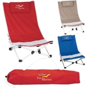 Mesh beach chair with