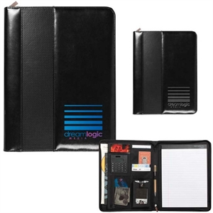 Padfolio with a collapsible