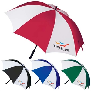 Manual large golf umbrella