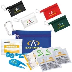 Golfer's sun protection kit
