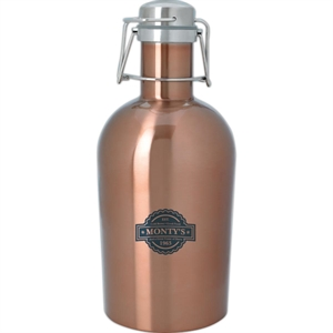 Stainless growler, 64 oz,
