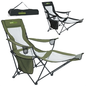 Folding two-position adirondack recliner