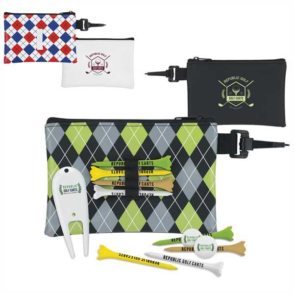 Golf kit with 6