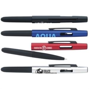 Two piece flip stylus