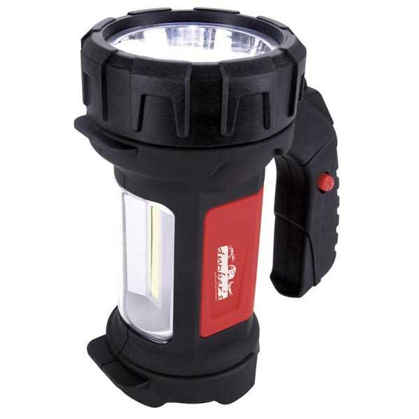LED COB flashlight.