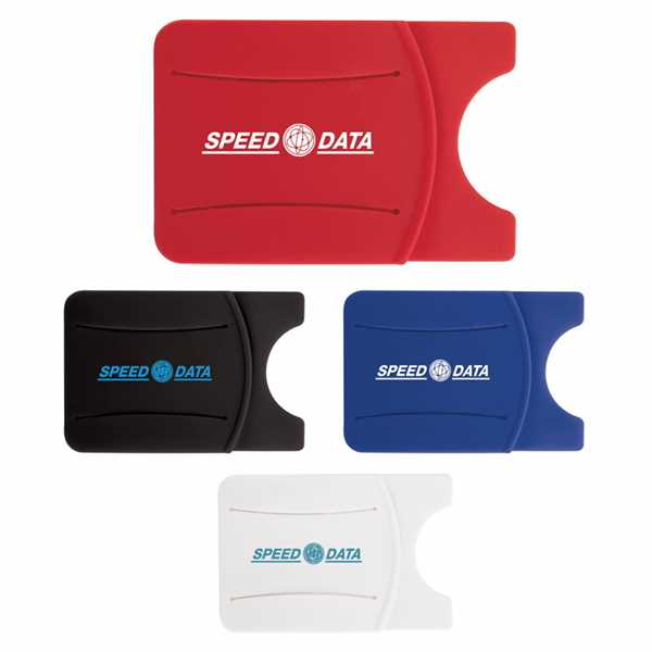 Silicone Phone Wallet with