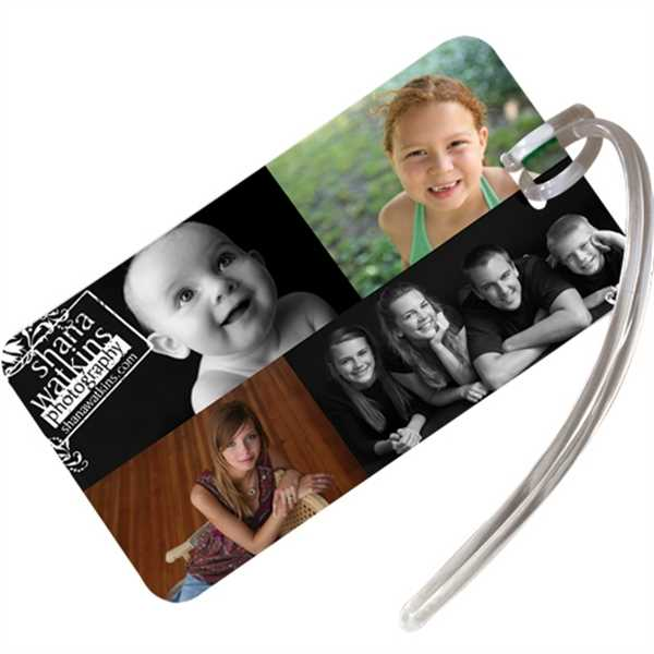 Rectangular Luggage Tag with