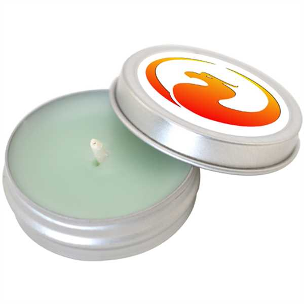 Aromatherapy Candle in Metal