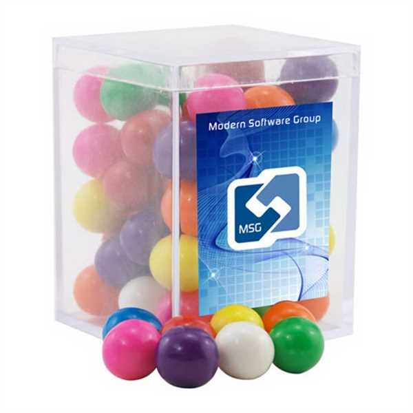 Gumballs in a Clear