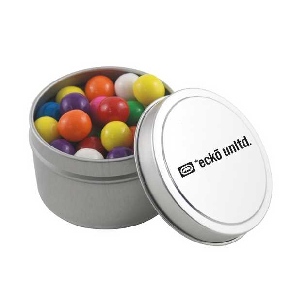 Round Metal Tin with