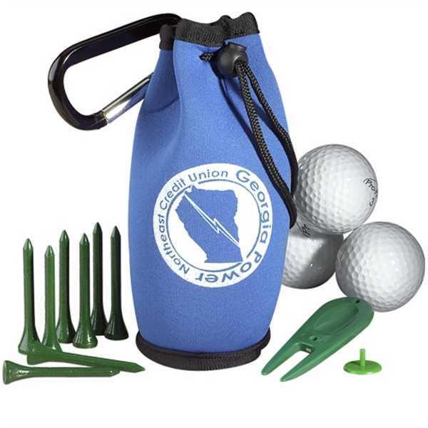 Golf Kit In Carabiner