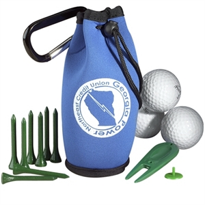 Golf Kit In Carabiner
