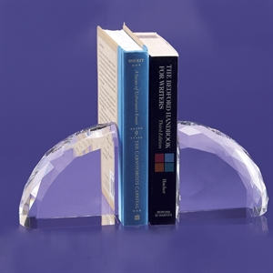 Venango Glass Bookends