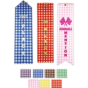 Promotional Award Ribbons-2x8P