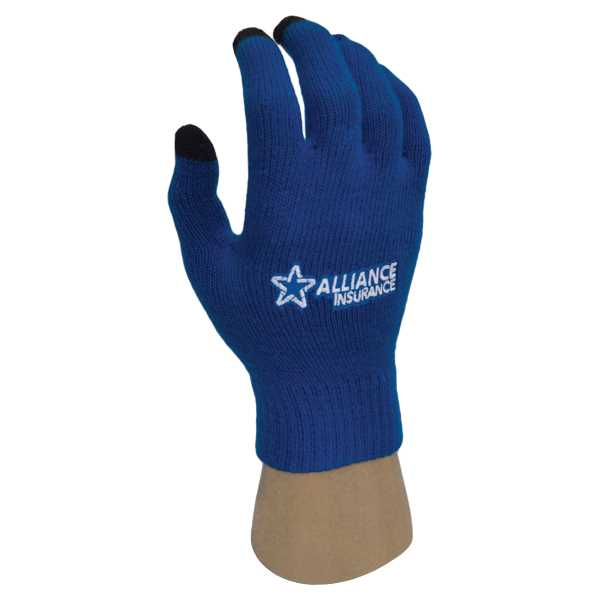 Texting gloves made of