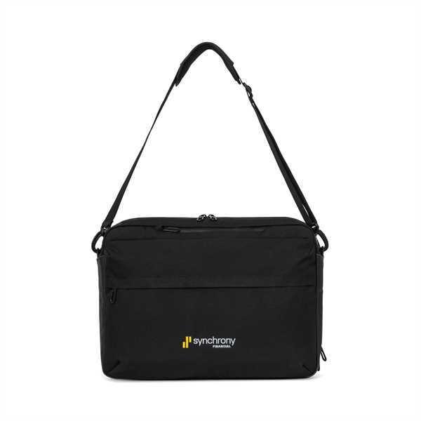 Computer portfolio bag with
