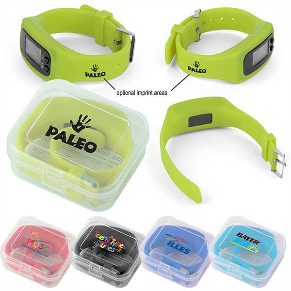 Pedometer activity watch with