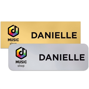 Promotional Name Badges-CHAS1