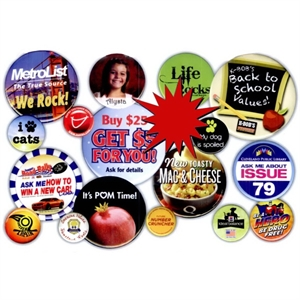 Promotional Standard Celluloid Buttons-EB100L