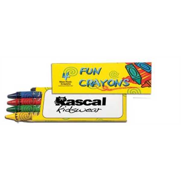 4 Pack Crayons