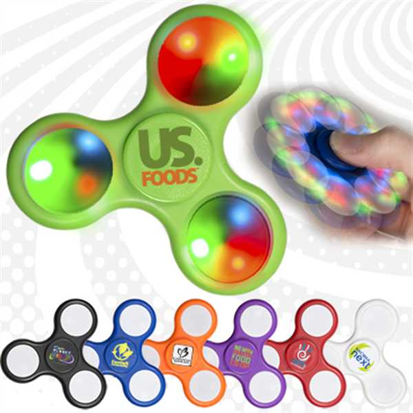 Light up fidget toy.