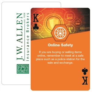 Poker size personal safety