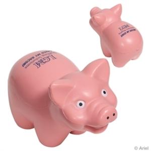 Pig stress reliever made