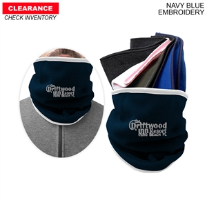 Embroidered - Neck warmer