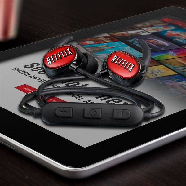 Wireless earbuds headset with