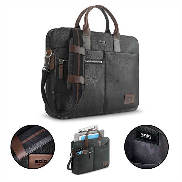 Solo® Brookfield Leather Slim
