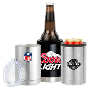 12 oz. stainless steel,