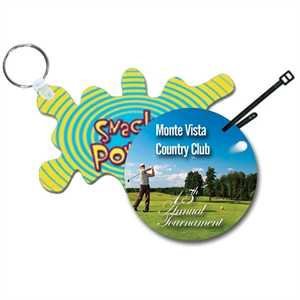 Hdi Key/Golf Tags. Attached