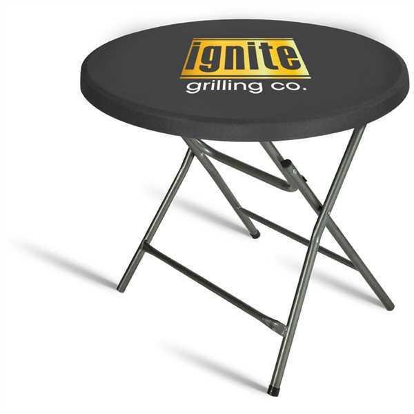 Contour stretch round table