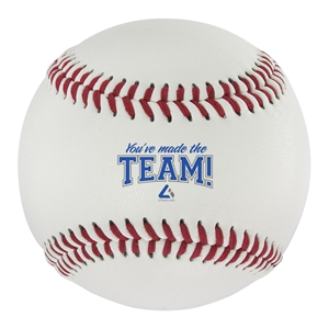 Official size baseball