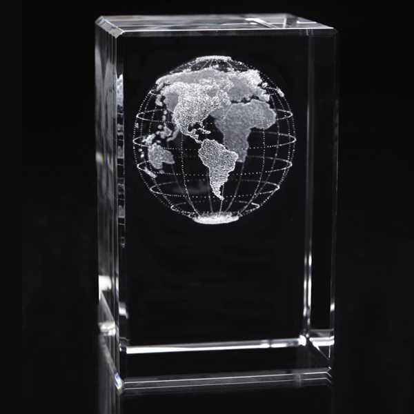 Tall Cube-World Award. Stock