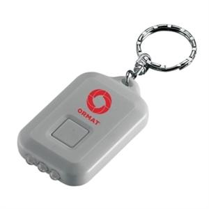 Solar powered key chain