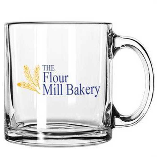 13 oz. glass mug