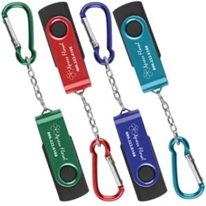 USB Swivel Keychain 8GB.