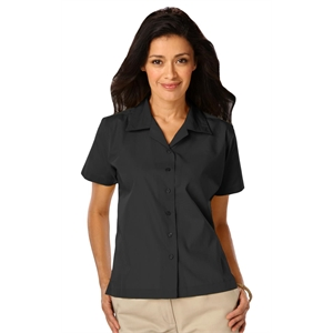 LADIES SHORT SLEEVE SOLID