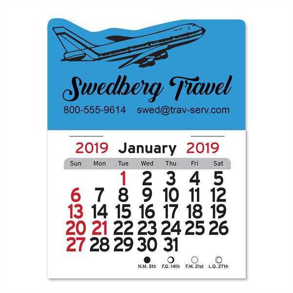 Peel-N-Stick® - Jet airliner/travel-themed