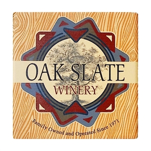 Square absorbent stone coaster