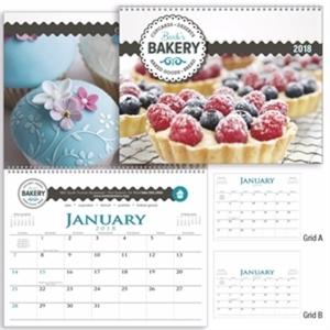 12-month spiral bound calendar