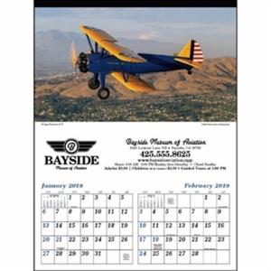 Planes 2019 Calendar. Take