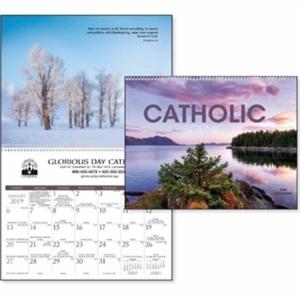 Catholic Scenic 2019 Calendar.