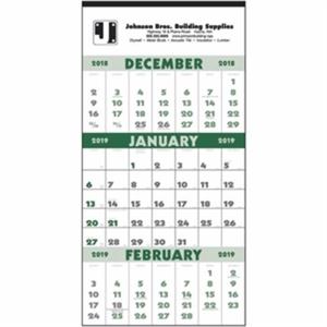 3-Month Planner 2019 Calendar