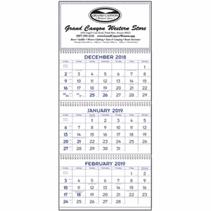 Commercial Planners 2019 Calendar