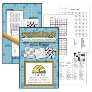 Puzzle book. Includes 64